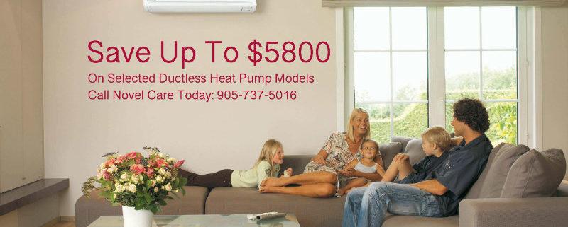ductless heat pump rebate
